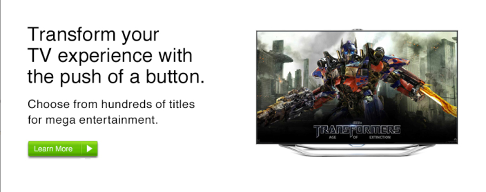 Transformers web banner